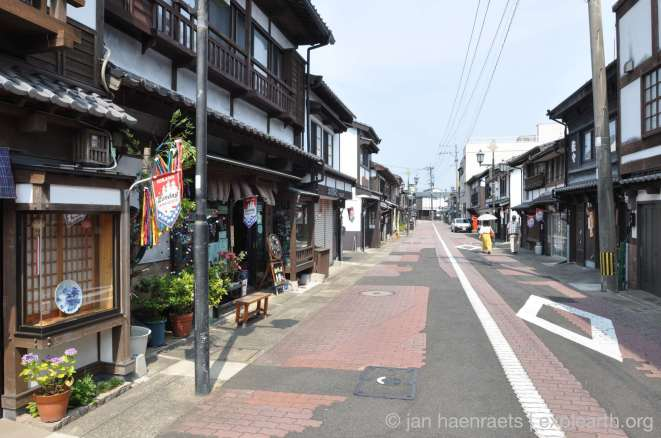 Historical houses in the Main Street of Hirado (Photo: Jan Haenraets)